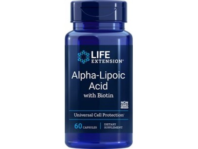 Life Extension Alpha Lipoic Acid w Biotin